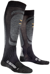 X-Socks Ski discovery black/antracite